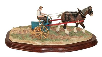 Lot 22 - *  Border Fine Arts 'Rowing Up' (Standard Edition), model No. B0598A by Ray Ayres, limited...