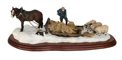 Lot 29 - *  Border Fine Arts Studio Model 'Emergency Rations', model No. A2140 by Ray Ayres, on wood...