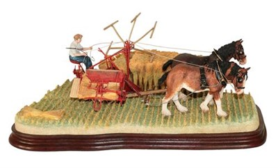Lot 33 - *  Border Fine Arts 'The Last Bout' (Reaper Binder), model No. B0895 by Ray Ayres, limited...