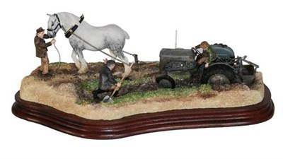 Lot 34 - *  Border Fine Arts 'The Last Laugh' (Fergie TE20), model No. B0946 by Ray Ayres, limited...