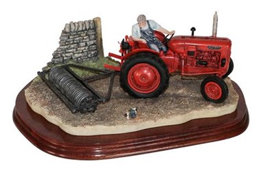 Lot 36 - *  Border Fine Arts 'Turning with Care' (Nuffield Tractor), model No. B0094 by Ray Ayres,...