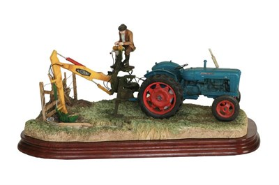 Lot 38 - Border Fine Arts 'A Day's Work Ditching', model No. B0832 by Ray Ayres, limited edition...