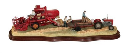 Lot 46 - Border Fine Arts 'Bringing in the Harvest', model No. B0735 by Ray Ayres, limited edition...