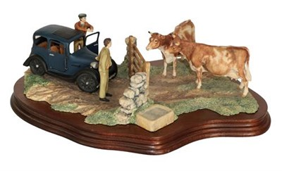 Lot 58 - Border Fine Arts James Herriot model 'Viewing the Practice', model No. JH8 by Ray Ayres, on...