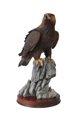 Lot 63 - Border Fine Arts 'Master Of The Skies' (Golden Eagle), model No. B0529 by Richard Roberts,...