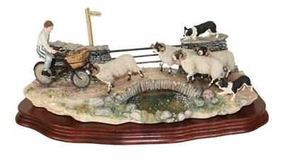 Lot 65 - Border Fine Arts 'No Way Through' (Butcher's Delivery Boy), model No. B0500 by Ray Ayres,...