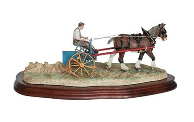 Lot 69 - Border Fine Arts 'Rowing Up' (Standard Edition), model No. B0598A by Ray Ayres, limited edition...