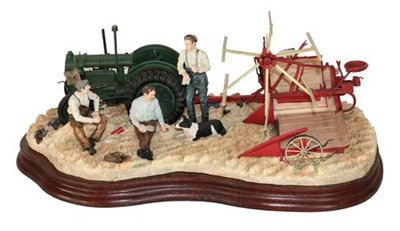 Lot 80 - Border Fine Arts 'Taking a Break', model No. B1389 by Ray Ayres, limited edition 101/500, on...