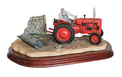 Lot 88 - Border Fine Arts 'Turning With Care' (Nuffield Tractor), model No. B0094 by Ray Ayres, limited...
