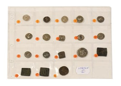 Lot 2000 - An Impressive Collection of 18 x Indo-Greek Coins including 13 x Silver Drachms comprising: 1)...