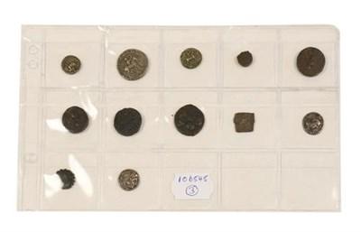 Lot 2001 - 8 x Indo-Scythian & Indo-Parthian Silver & Bronze Coins comprising: Azes I, silver drachm, obv....