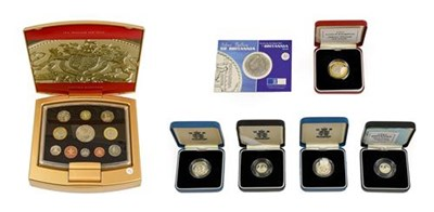 Lot 2021 - Elizabeth II, 2003 Executive 11-Coin Proof Set composed of 2003 ''Golden Jubilee'' five pounds,...