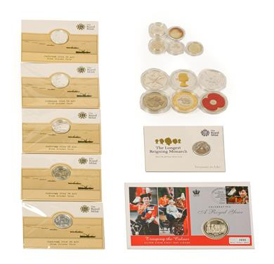 Lot 2041 - 6 x UK Silver Commemorative £20 comprising: 5 x 'Centenary of the Outbreak of WWI 1914-2014'...