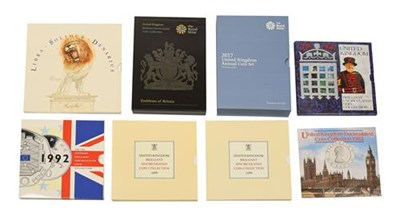 Lot 2063 - Elizabeth II, A Collection of Brilliant Uncirculated Sets consisting of: 1967 ''Libra - Solidus...
