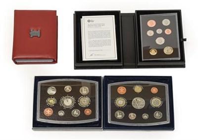 Lot 2075 - 4 x UK proof Sets comprising: 2000 10 coins: 1p, 2p, 5p, 10p, 20p, 2 x 50p (Britannia rev. &...