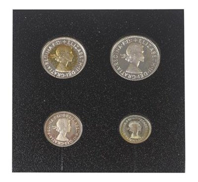 Lot 2087 - Elizabeth II, Maundy Set 2000, comprising 4p, 3p, 2p & 1p, in a fitted plastic case, all...