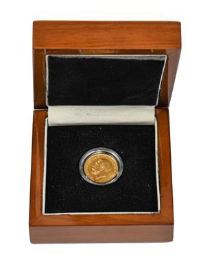 Lot 2092 - George V, Sovereign 1926SA (Pretoria Mint), good edge & surfaces, encapsulated in London Mint...