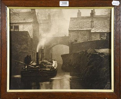 Lot 1008 - Alexander (Alex) Keighley (1861-1947) Two photographic prints, lady sat by fireside, signed,...