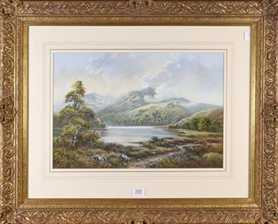 Lot 1027 - Wendy Reeves (b.1944) Lakeland landscape, signed pastel, 36cm by 53cm  Artist's Resale Rights/Droit