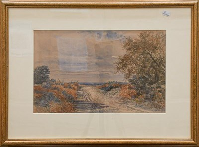 Lot 1055 - Frederick William Hulme (1816-1884), Woking Common, signed, inscribed and dated 1850,...