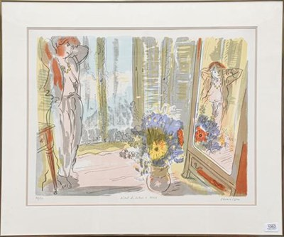 Lot 1063 - Edward Piper (1938-1990) ''Hotel de Calais á Nice II'' signed, inscribed and numbered 48/150,...